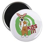 Kiss It Corgi Magnet