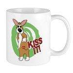 Kiss It Corgi Mug