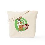 Kiss It Corgi Tote Bag