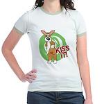 Kiss It Corgi Jr. Ringer T-Shirt