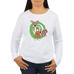 Kiss It Corgi Women's Long Sleeve T-Shirt