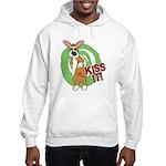 Kiss It Corgi Hooded Sweatshirt
