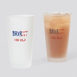Bryant Family Drinking Glass