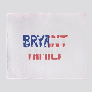Bryant Family Throw Blanket