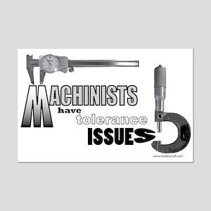 Mini Poster Print - machinist