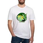 Corgi Fairy Fitted T-Shirt