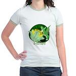 Corgi Fairy Jr. Ringer T-Shirt