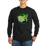 Corgi Fairy Long Sleeve Dark T-Shirt