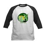 Corgi Fairy Kids Baseball Jersey