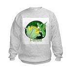 Corgi Fairy Kids Sweatshirt