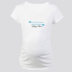 Marilyn Monroe - Well behaved Maternity T-Shirt