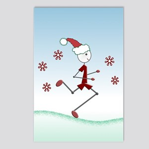 Holiday Runner Guy Postcards (Package of 8)