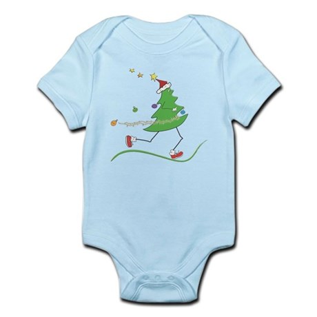 Christmas Tree Runner Infant Bodysuit