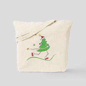 Christmas Tree Runner Tote Bag