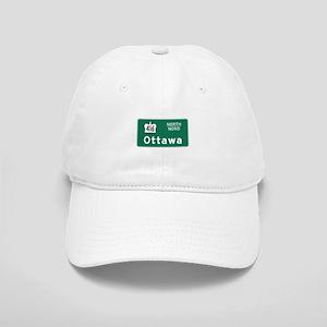 Ottawa, Canada Hwy Sign Cap