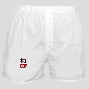 Number 1 COP Boxer Shorts