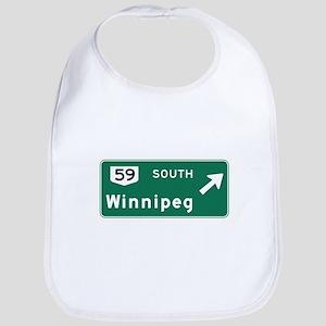 Winnipeg, Canada Hwy Sign Bib