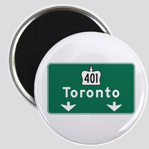 Toronto, Canada Hwy Sign Magnet
