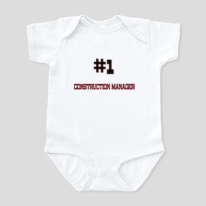 Number 1 CONSTRUCTION MANAGER Infant Bodysuit