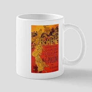 Vintage La Boheme Opera Mug