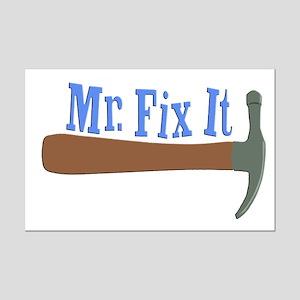 Mr. Fix It Mini Poster Print