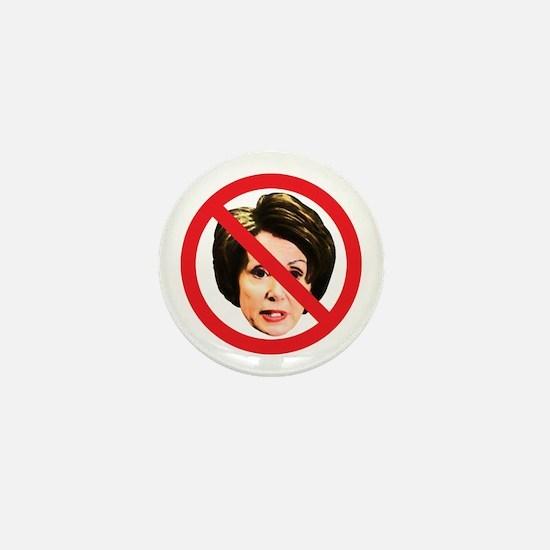 No Nancy Pelosi Mini Button
