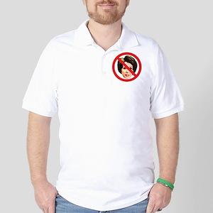 No Nancy Pelosi Golf Shirt