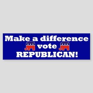 Vote Republican Sticker (Bumper)