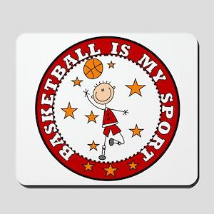 Basketball My Sport Mousepad