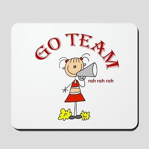 Go Team Cheerleading Mousepad