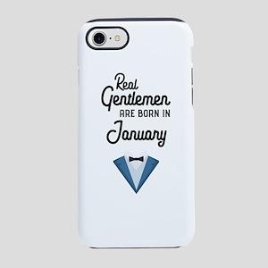 Real Gentlemen are born in Jan iPhone 7 Tough Case