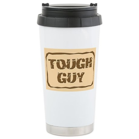 Tough Guy Stainless Steel Travel Mug