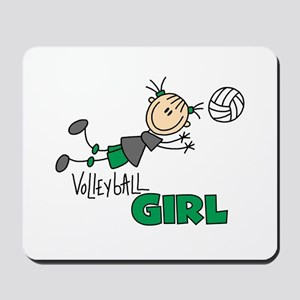 Volleyball Girl Mousepad