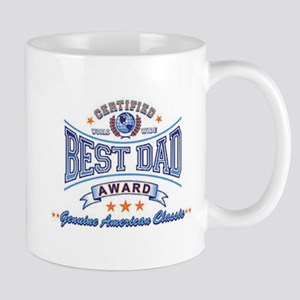 World's Best Dad Fathers Day Cup Mug
