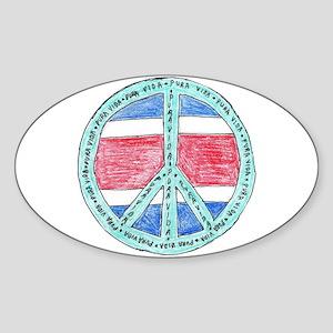Pure Life Oval Sticker