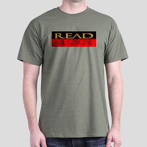 Read Nietzsche Dark T-Shirt