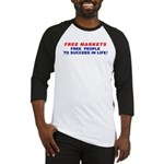 Free Markets Free People Baseball Jersey