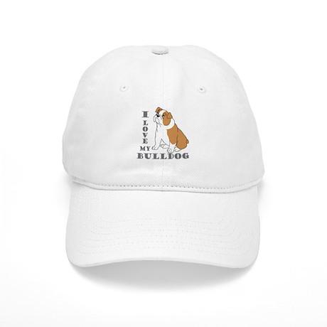 Bulldog, Eng. (Brn&wht) Cap