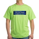 1600 Cap and Trade Green T-Shirt