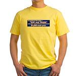 1600 Cap and Trade Yellow T-Shirt