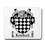 Lombard Coat of Arms Mousepad