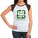 Recycle Yourself Women's Cap Sleeve T-Shirt