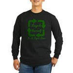 Recycle Yourself Long Sleeve Dark T-Shirt