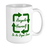 Recycle Yourself Large Mug