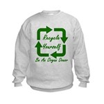 Recycle Yourself Kids Sweatshirt