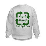 Recycle Yourself Kids Sweatshirt