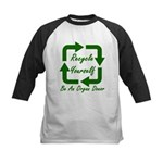 Recycle Yourself Kids Baseball Jersey