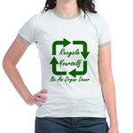Recycle Yourself Jr. Ringer T-Shirt