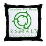 Power To Save Throw Pillow
