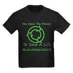 Power To Save Kids Dark T-Shirt
